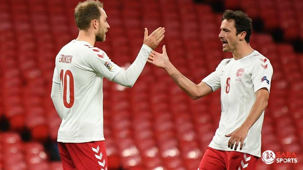 Với thành tích thi đấu tốt trong thời gian gần đây, ĐT Đan Mạch được xếp vào nhóm 1