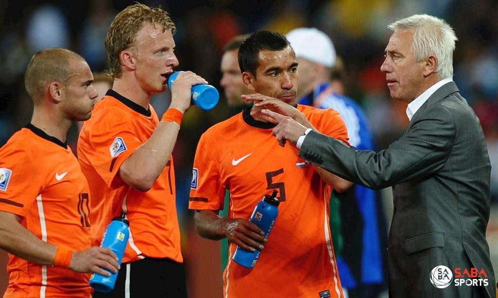 Marwijk đã đưa Hà Lan đến tận chung kết World Cup ở Nam Phi