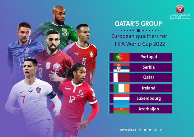 Bồ Đào Nha rơi vào một bảng đấu không quá thử thách
