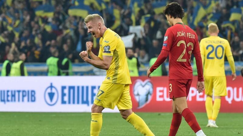 Ukraine từng thể hiện lối chơi vô cùng chắc chắn ở vòng loại Euro