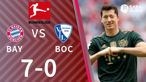 Bayern Munich vs Bochum - vòng 5 Bundesliga 2021/22