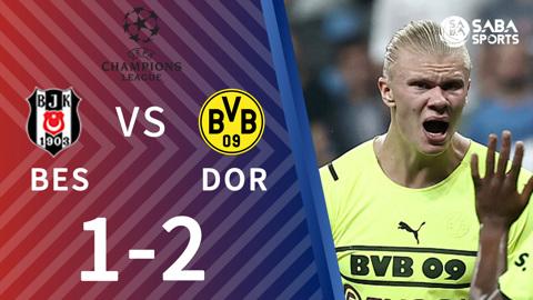 Besiktas vs Dortmund - bảng C cúp C1 2021/22