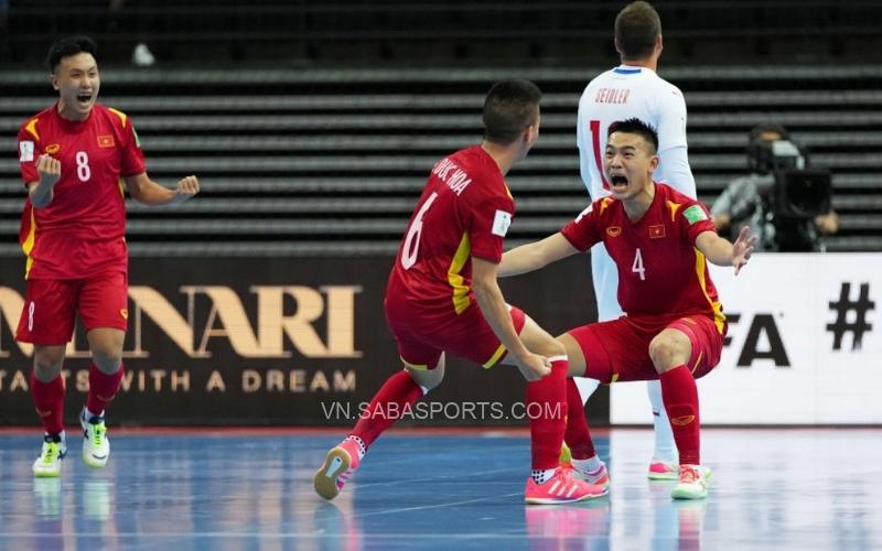 Lịch thi đấu vòng 1/8 futsal World Cup 2021: Việt Nam chơi trận sớm nhất