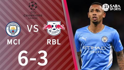Man City vs RB Leipzig - bảng A cúp C1 2021/22
