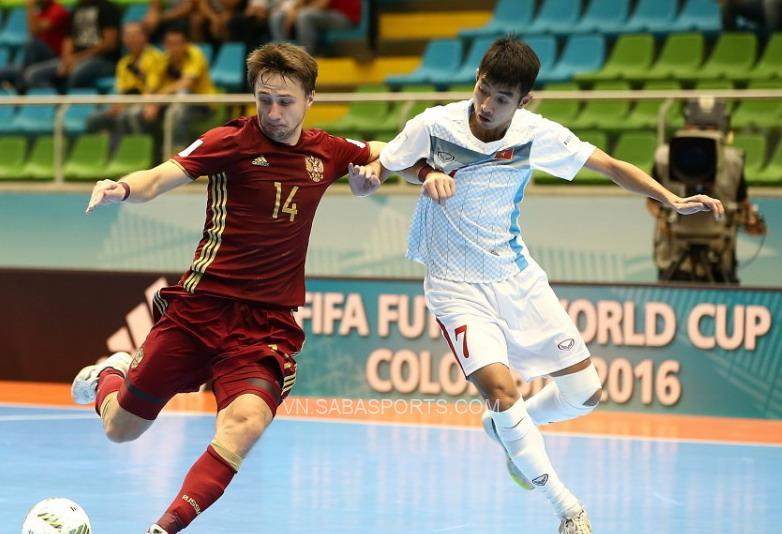 Việt Nam gặp Á quân thế giới ở vòng 1/8 futsal World Cup 2021