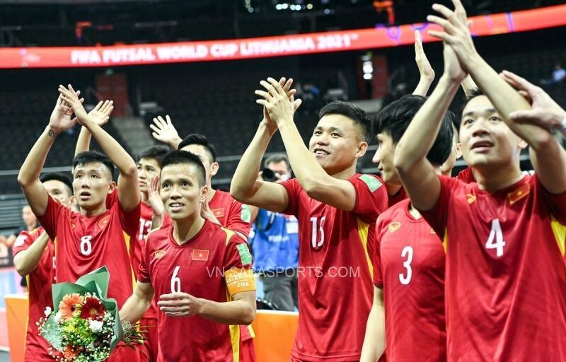 Futsal Việt Nam giúp Châu Á cán mốc lịch sử