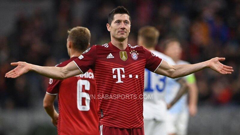 Lewandowski tiếp tục tỏa sáng với những bàn thắng