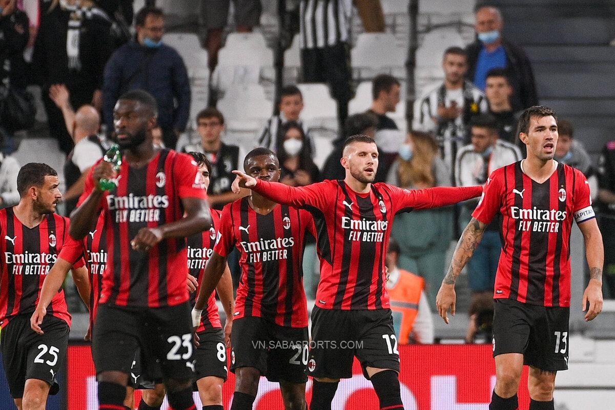 Milan quật cường đẩy Juventus xuống nhóm cuối bảng