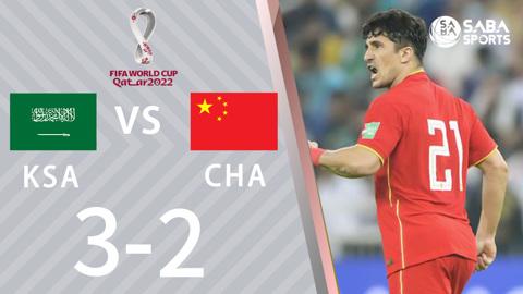Ả rập xê út vs Trung Quốc - vòng loại World Cup 2022