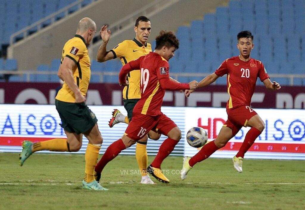 Dù để thua nhưng ĐTVN đã thể hiện tốt trước Australia