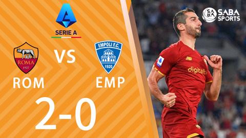 AS Roma vs Empoli - vòng 7 Serie A 2021/22