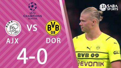 Ajax vs Dortmund - bảng C cúp C1 châu Âu 2021/22