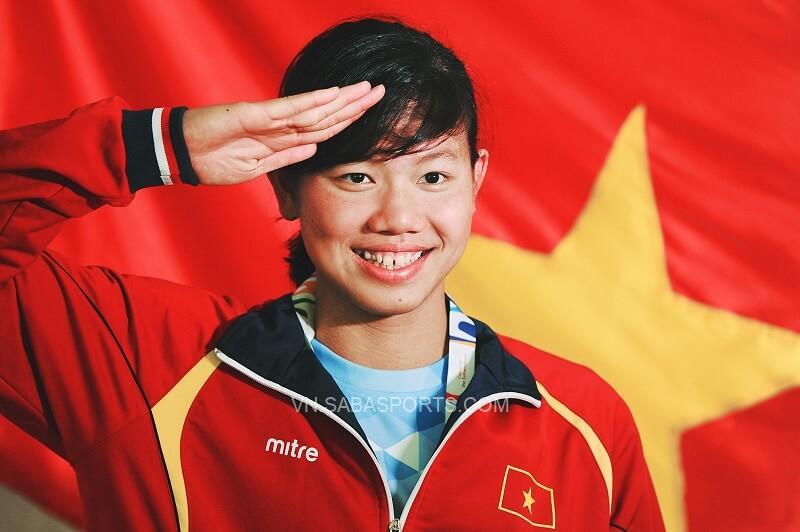 Ánh Viên là niềm tự hào của thể thao Việt Nam. (Ảnh: Báo Biên phòng)
