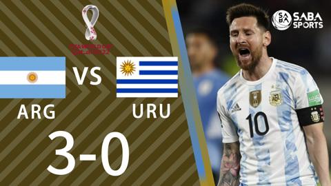 Argentina vs Uruguay - vòng loại World Cup 2022