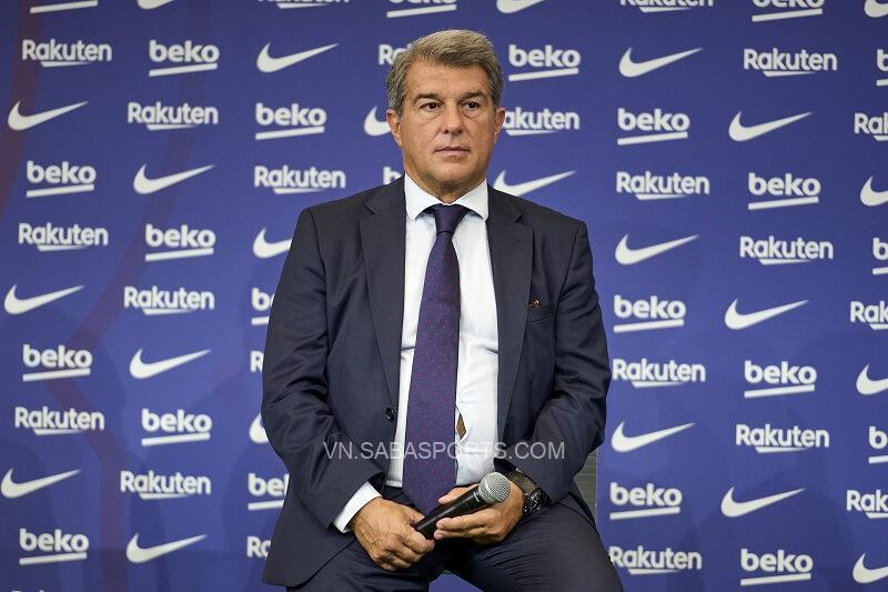 Chủ tịch Laporta sẽ sớm công bố các số liệu tài chính. (Ảnh: Football Espana)