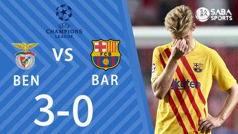 Benfica vs Barcelona - bảng E cúp C1 châu Âu 2021/22
