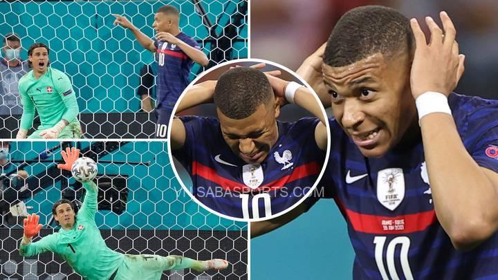 Mbappe đã bị chỉ trích rất nhiều sau quả 11m hỏng ăn ở vòng 1/8 Euro 2020