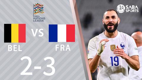 Bỉ vs Pháp - bán kết Nations League 2021