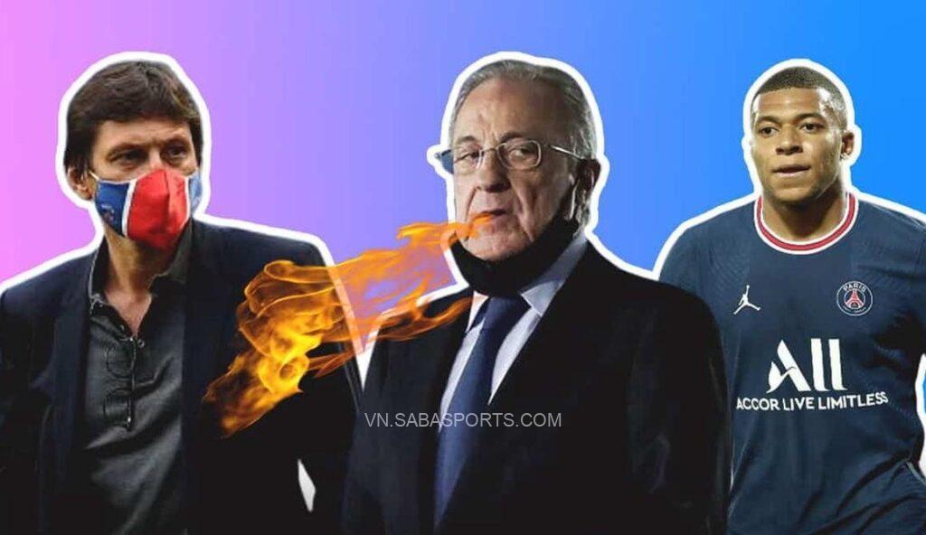 Giám đốc của PSG lập tức đáp trả phát ngôn của Chủ tịch Real