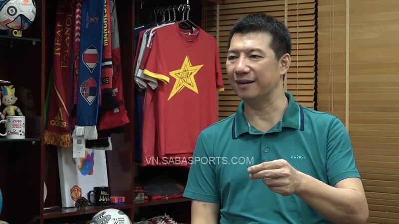 BLV Quang Huy tin tưởng ĐT Việt Nam. (Ảnh: VTC News)