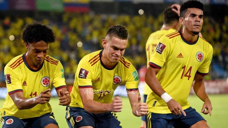 Colombia thi đấu khá phập phù với những trận hòa liên tiếp