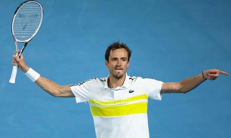 Á quân của Australian Open 2021 - Danil Medvedev là một trong những tay vợt chưa tiêm vaccine