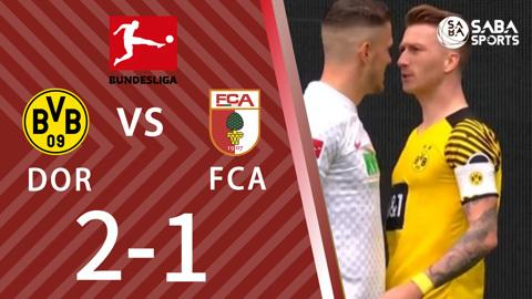 Dortmund vs Augsburg - vòng 7 Bundesliga 2021/22
