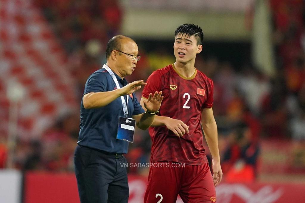 Duy Mạnh trở lại trong trận đấu với Trung Quốc