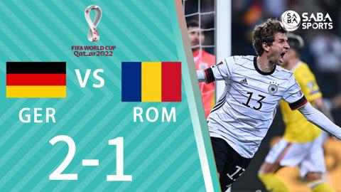 Đức vs Romania - vòng loại World Cup 2022