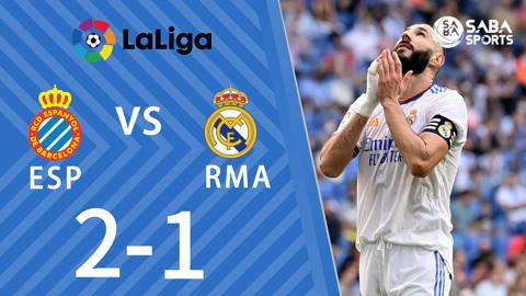 Espanyol vs Real Madrid - vòng 8 La Liga 2021/22