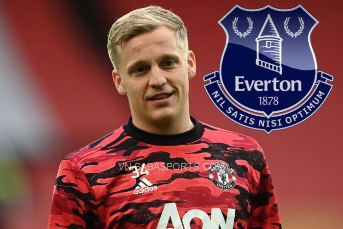 Everton đưa Van de Beek vào danh sách chuyển nhượng