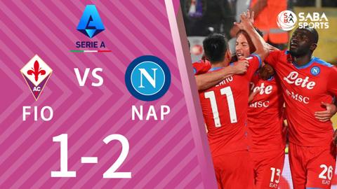 Fiorentina vs Napoli - vòng 7 Serie A 2021/22