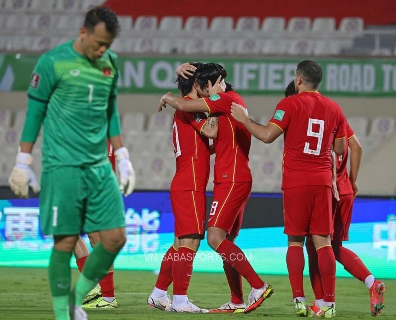 ĐT Trung Quốc đã có được 3 điểm đầu tiên ở chiến dịch Vòng loai thứ 3 của World Cup 2022