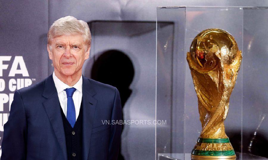 Wenger muốn World Cup diễn ra liên tục hơn