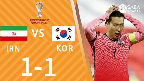 Iran vs Hàn Quốc - vòng loại World Cup 2022