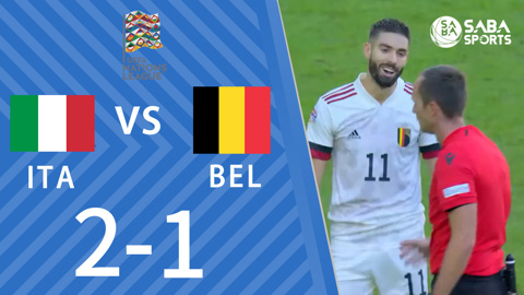 Italia vs Bỉ - Hạng 3 Nations League 2021