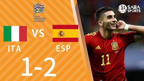 Italia vs Tây Ban Nha - bán kết Nations League 2021