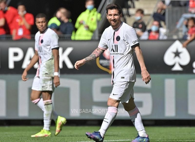 Messi đã có một trận đấu thiếu may mắn