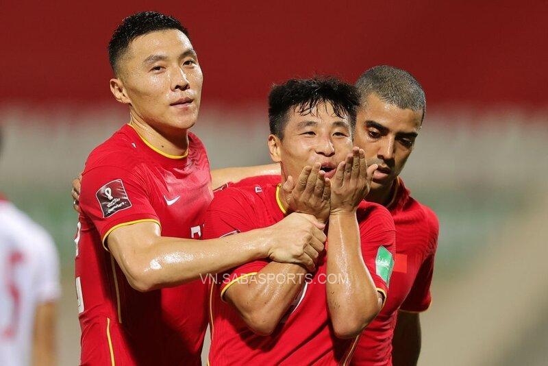 Wu Lei ghi bàn thắng mang về 3 điểm cho thầy trò HLV Li Tie