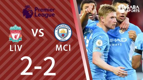 Liverpool vs Man City - vòng 7 Ngoại hạng Anh 2021/22