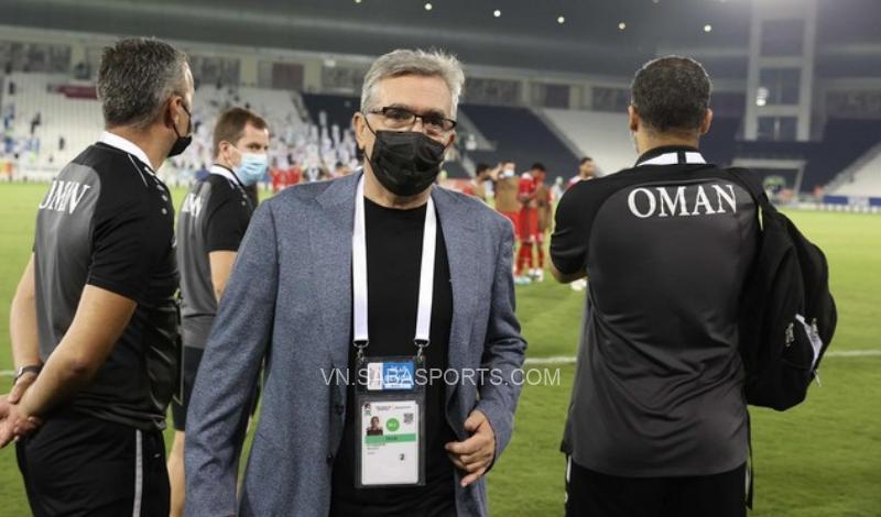 Branko Ivankovic rất tâm huyết với túc cầu ở Oman