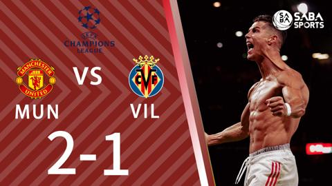 Man United vs Villarreal - bảng F cúp C1 châu Âu 2021/22