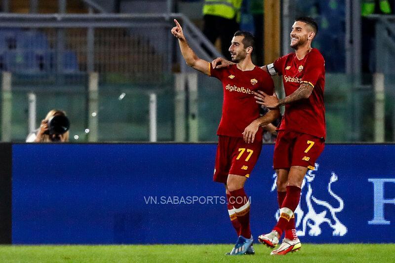 Mkhitaryan tỏa sáng trong chiến thắng của Roma