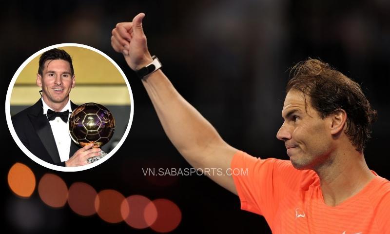 Không phải Messi, Nadal chỉ ra cái tên xứng đáng giành QBV 2021