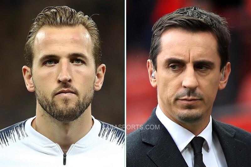 Neville coi trọng tài năng của Kane. (Ảnh: The Sun)