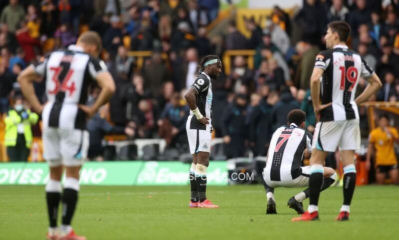 Newcastle thi đấu bết bát kể từ đầu mùa