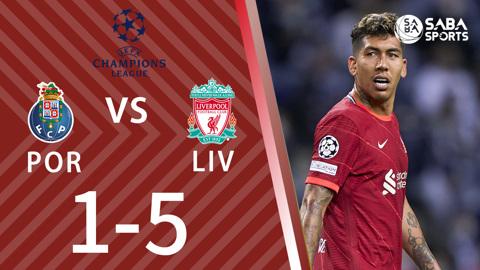 Porto vs Liverpool - bảng B cúp C1 châu Âu 2021/22