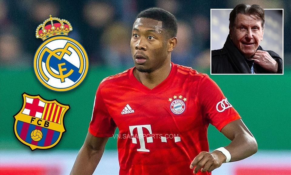 Zahavi đã giải thoát Alaba khỏi Bayern