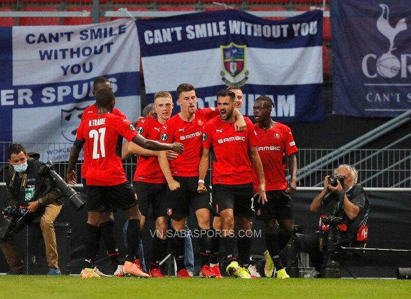 Rennes thi đấu khá phập phù kể từ đầu mùa