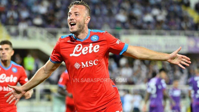 Rrahmani hoàn tất màn lội ngược dòng cho Napoli